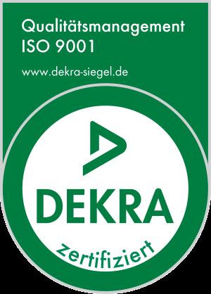 Dekra Iso Zertifizierung 9001_ger_tc_p
