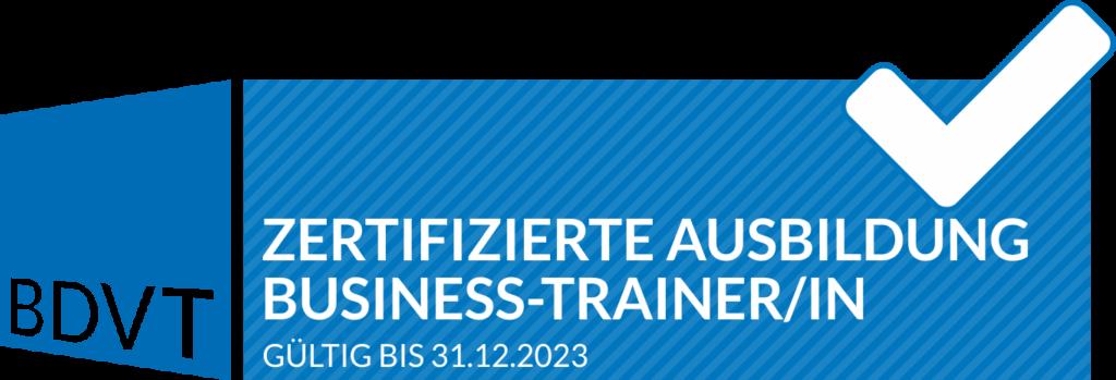 Lizenz-Business-Trainer BDVT GMWGROUP